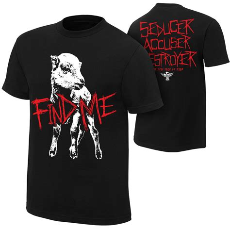 Where To Find Shirts Bray Wyatt Quot Find Me Quot Authentic T Shirt