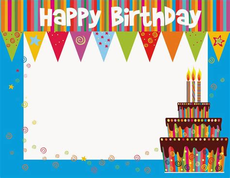 Birthday Card Template Free by Printable Birthday Cards Printable Birthday Cards