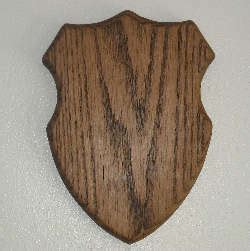 state shaped trophy mounting plaques