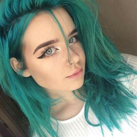 aquamarine hair color aquamarine turquoise hair semi permanent hair dye and