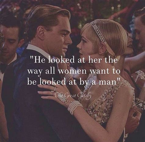 theme of innocence in the great gatsby he looked at her the way all women want to be looked at by