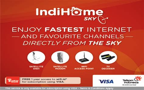 Harga Channel Indihome biaya pasang dan harga kuota paket indihome sky