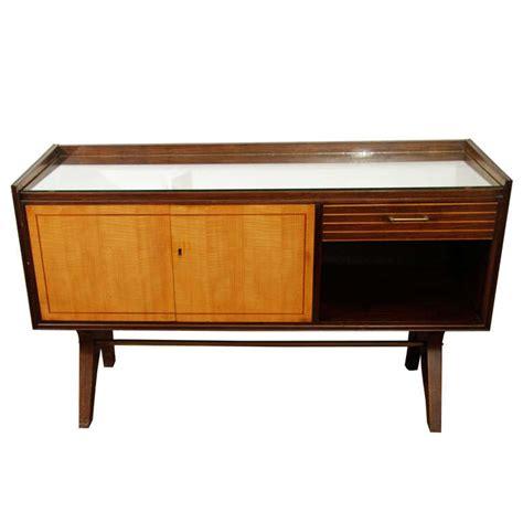 mid century liquor cabinet mid century german mirrored liquor cabinet console at