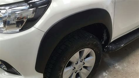 All New Fortuner Fender Activo Aksesoris Toyota Fortuner toyota hilux revo prerunner 4x4 cab 2016 black fender flares wheel arch ebay