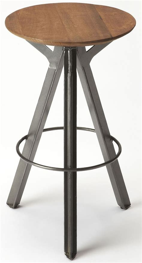Chic Bar Stools by Allegheny Industrial Chic Bar Stool 6229330 Butler