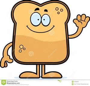 8 Piece Toaster Cartoon Toast Waving Stock Vector Image 47334242