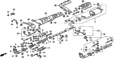 honda accord exhaust system diagram honda accord exhaust diagram images frompo 1
