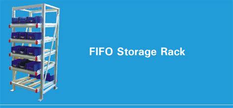 Fifo Storage Can Rack by Metafold Engineering Pvt Ltd