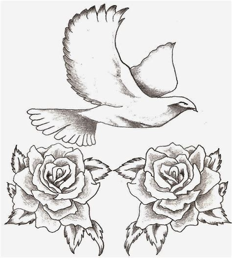 rose and dove tattoo designs tattoos ie favorite dove designs images photos ideas