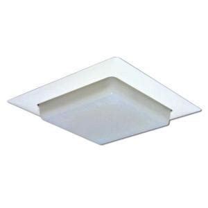 Drop Ceiling Light Diffuser by Halo 8 In White Recessed Ceiling Light Square Trim With