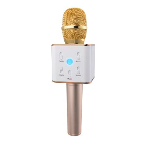 Mic Karoke by New Arrival Tuxun Q7 Karaoke Ktv Mic Bluetooth Speaker