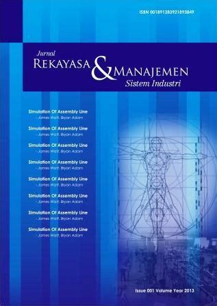 Rekayasa Sistem Manufaktur jurnal rekayasa dan manajemen sistem industri jrmsi neliti