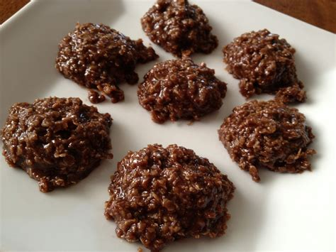 delicious no bake cookie recipe in the kitchen with