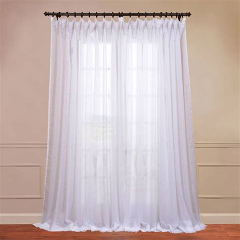 108 inch sheer curtains voile white 50 x 108 inch sheer curtain pair 2 panel