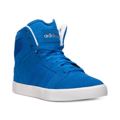 high top adidas sneakers lyst adidas s bbneo hi top casual sneakers from