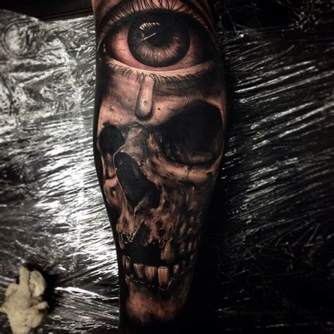 realistic skull tattoos 9 best images about skull tattoos on new