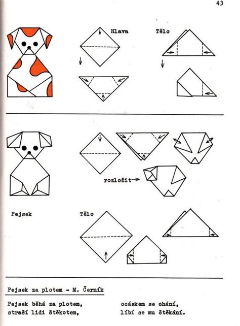 Origami Worksheet - crafts actvities and worksheets for preschool toddler and