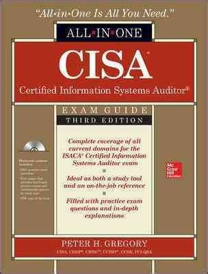 certified information systems auditor cisa cert guide certification guide books cisa certified information systems auditor all in one