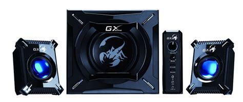 Genius Speaker 2 1 Sw G2 1 3000 genius gx gaming sw g2 1 2000 black speakers alzashop