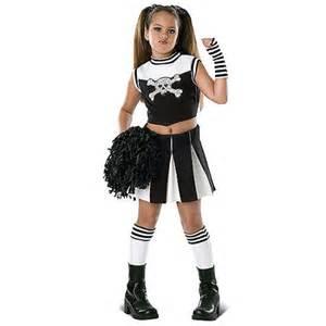 cheerleading halloween costumes party city bad spirit cheerleader child halloween costume walmart com