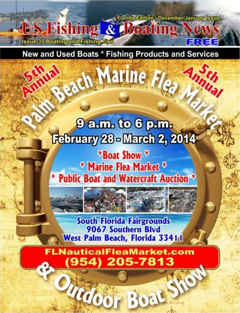 west palm beach boat show fairgrounds 5th annual palm beach marine flea market and outdoor boat