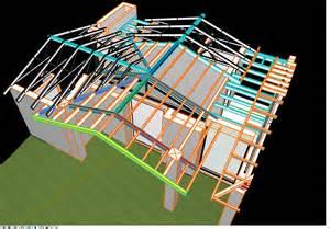 House Blueprints Maker cadimage blog 187 modelling roof trusses