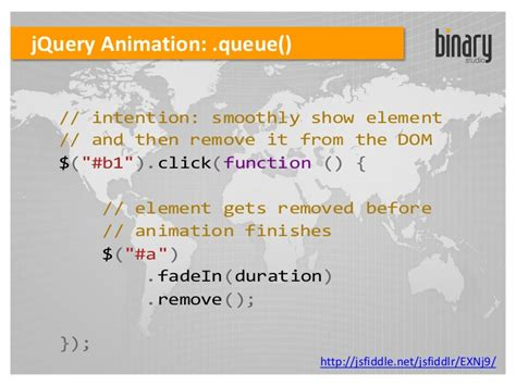 jquery swing animation jquery events animation ajax