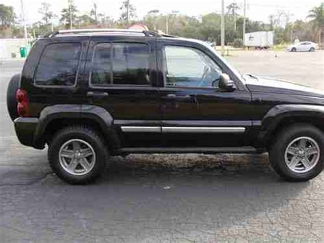 2005 Jeep Liberty Gas Mileage Purchase Used 2005 Jeep Liberty Limited Sport Utility 4