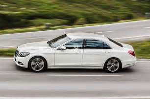 Mercedes S550 Hybrid 2015 Mercedes S550 In Hybrid In Motion Side View