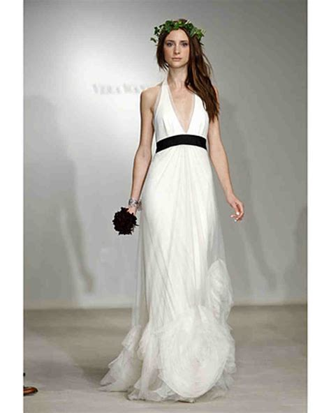 White Wedding Dresses 2009 by Vera Wang 2009 Bridal Collection Martha Stewart