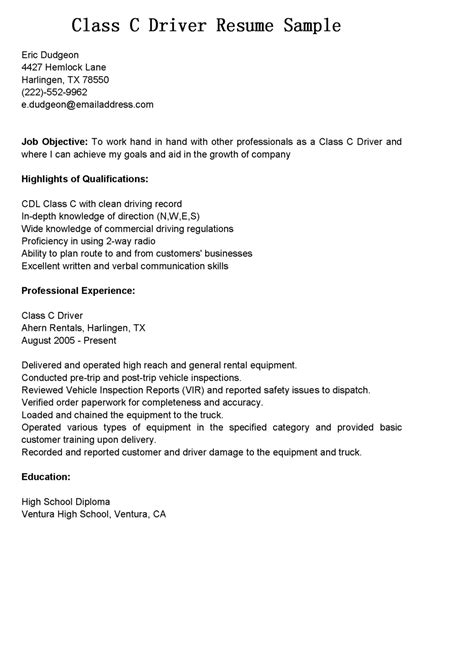 Sample Resume For A Z Driver by Sample Resume For Pizza Cashier Resume Ixiplay Free Resume Samples
