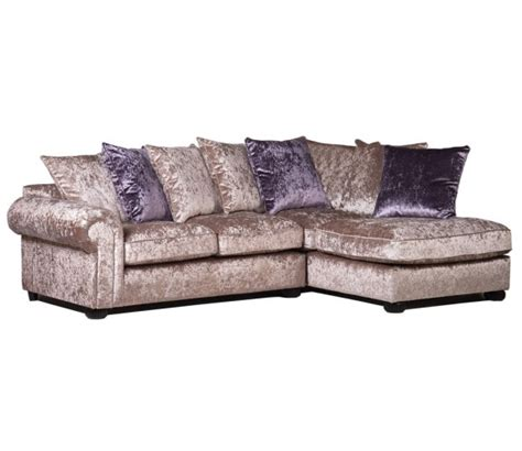 crushed velvet sofa marilyn crushed velvet corner sofa gold mink sofas
