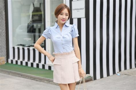 Celana Panjang Import Cutbray Light Blue Biru Muda 455 Komprang kemeja wanita import bl3085 light blue tamochi
