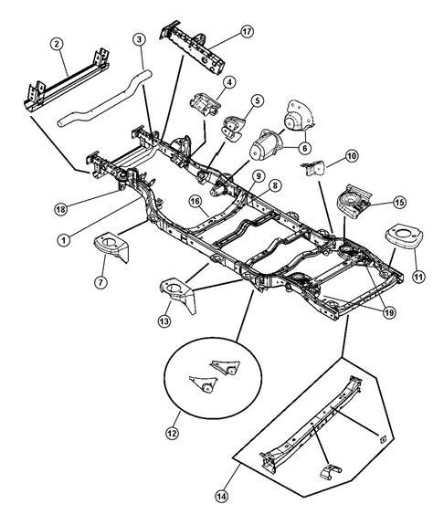 jeep jk frame jeep wrangler frame