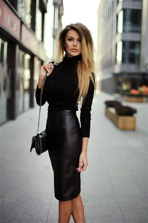 25 best ideas about leather skirt on leather