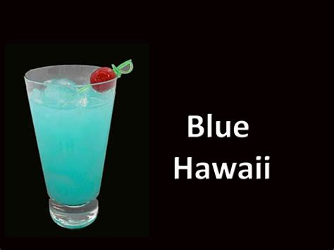 blue hawaiian cocktail blue hawaii cocktail drink video youtube