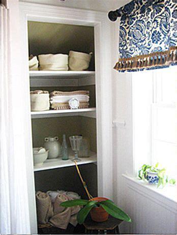 bathroom closet design take the door your bathroom linen closet for a chic