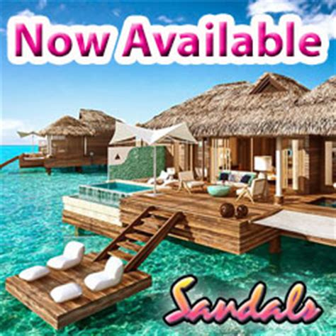 sandals overwater bungalows jamaica sandals water bungalow suites jamaica latitudes