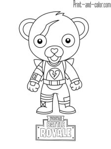 fortnite fortnite coloring pages   color coloring pages