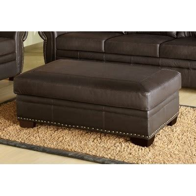 monroe leather chair and ottoman 20 best images about toh storage ottomans on pinterest
