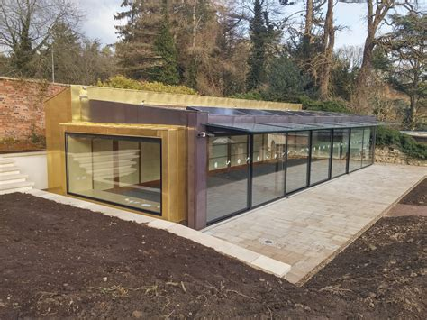Building A Walled Garden New Walled Garden Pavilion Feb 2015 Gloucester News Centre