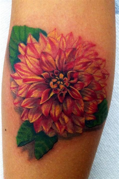 dahlia tattoo designs designs flowers zinnia dahlia flower