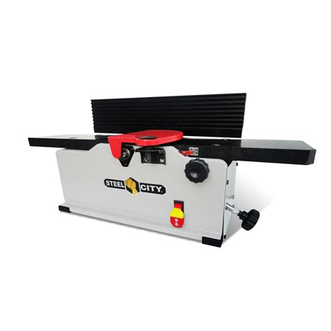 bench joiner shop steel city 115 volt bench jointer at lowes com