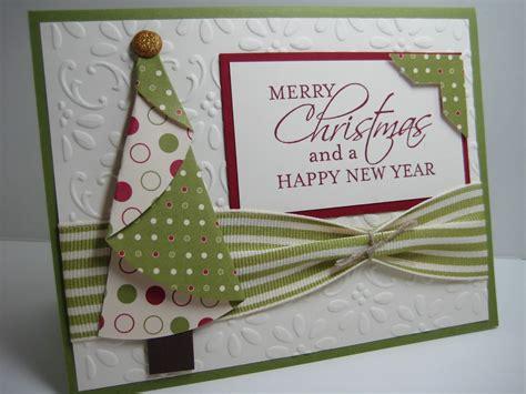 folded tree christmas card xmasblor