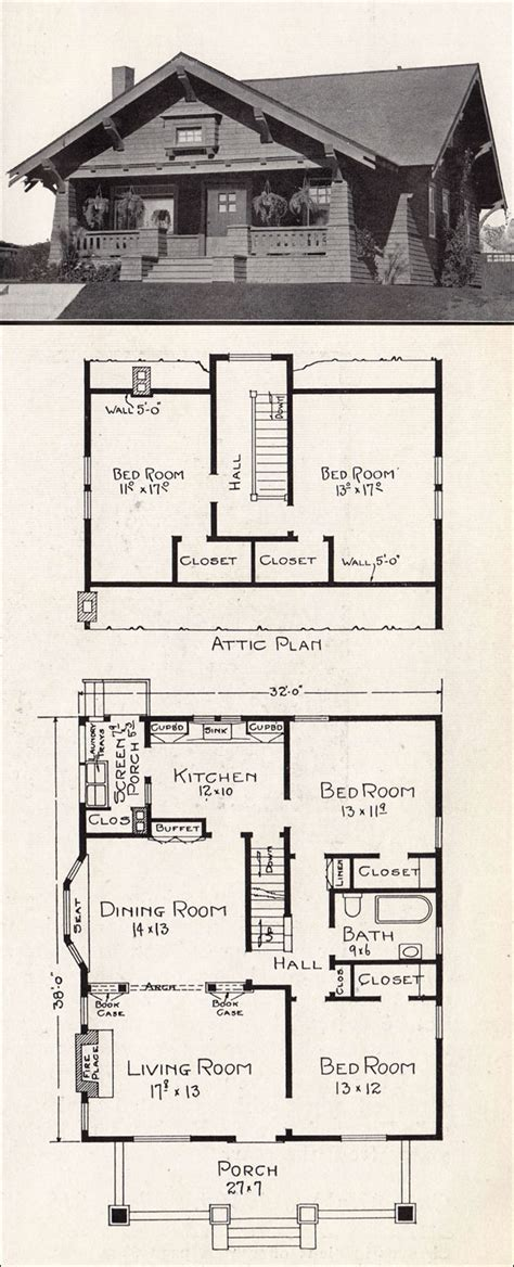 californian bungalow floor plans 1920 craftsman bungalow floor plans 1918 craftsman