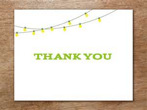 Reception Thank You Card Template by Thank You Card Template Garden