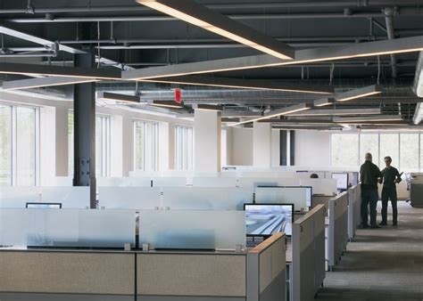 open office lighting design office tour autodesk offices waltham ma open ceiling