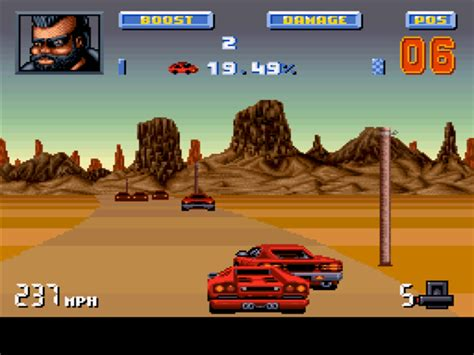 Lamborghini American Challenge Snes The Computer You Played