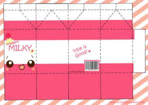 Free Paper Crafts Printables - i a lots of milk box papercraft from random source