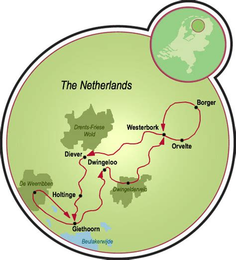 giethoorn netherlands map giethoorn the venice of